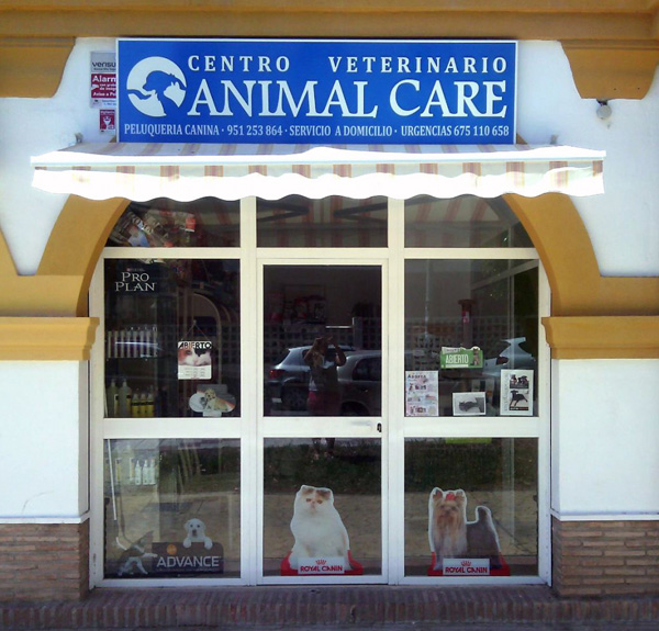 centro veterinario animal care en rincon de la victoria